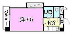 リモージュ小坂[102 号室号室]の間取り