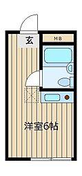 セイコーガーデンI[3階]の間取り
