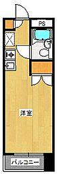 サンシャイン湘南[408号室]の間取り