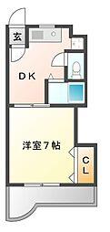 メゾン野田[9階]の間取り