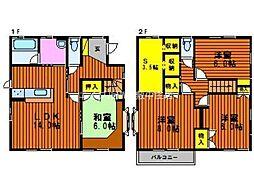 [一戸建] 岡山県岡山市北区庭瀬 の賃貸【岡山県 / 岡山市北区】の間取り