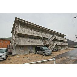 岡山県備前市伊部の賃貸マンションの外観