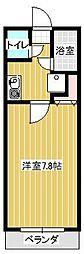 アイコーサンハイツI[3階]の間取り