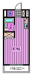 トキ弐番館[1階]の間取り
