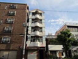 大阪府大阪市東住吉区鷹合1丁目の賃貸マンションの外観