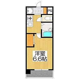 プレサンス京都駅前2[202号室]の間取り