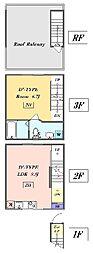 東急目黒線 武蔵小山駅 徒歩6分の賃貸マンション 1階1LDKの間取り