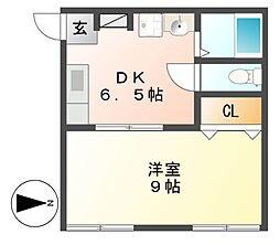 飯田ビル[2階]の間取り