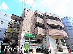 兵庫県神戸市灘区永手町2丁目の賃貸アパートの外観