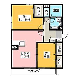 グラン・シャリオ千種[2階]の間取り