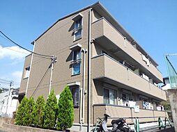 神奈川県横浜市鶴見区駒岡1丁目の賃貸アパートの外観
