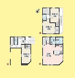 新築 さいたま市南区大谷場1丁目3期 全2棟(東南角地)