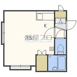 トレジャー15A[1階]の間取り