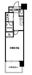 スプランディッド新大阪III[10階]の間取り