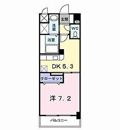 エス・テイト守恒[2階]の間取り