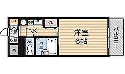 ポルテ56マンション[2階]の間取り
