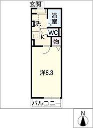 コーポN[2階]の間取り