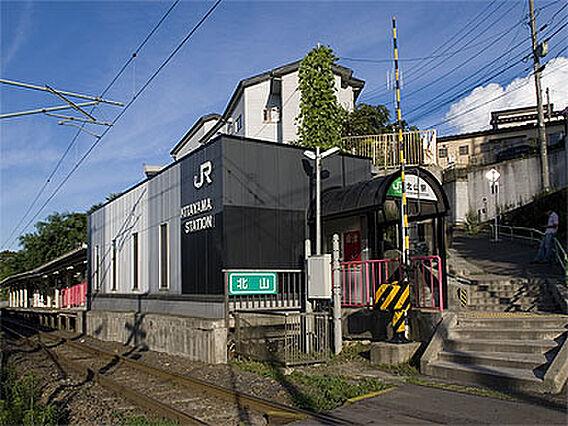 仙山線 北山駅...