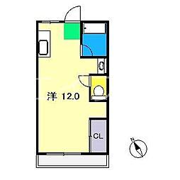 岩崎ハイツ[3階]の間取り