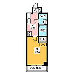 リファレンス博多[3階]の間取り