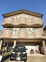 京都府京都市山科区大宅沢町の賃貸マンションの外観
