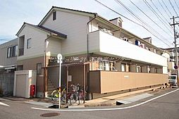 岡山県岡山市北区桑田町の賃貸アパートの外観