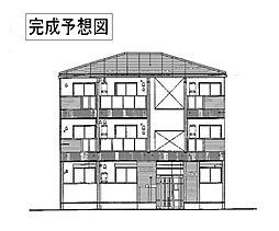 滋賀県野洲市市三宅の賃貸アパートの外観