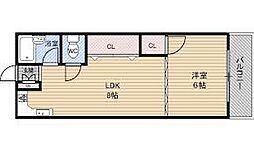 中村ビルマンション[2階]の間取り