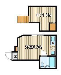 コータス[2階]の間取り