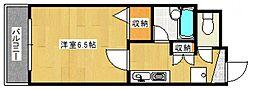 ルエメゾンロワールI[2階]の間取り