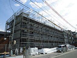新潟県新潟市西区寺尾前通の賃貸アパートの外観