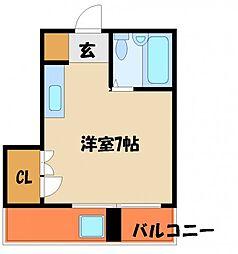 ファーストビル[3階]の間取り