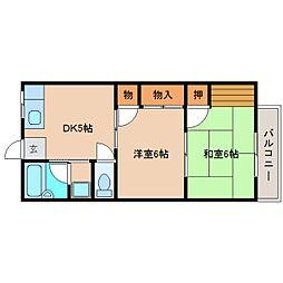 静岡県静岡市清水区駒越東町の賃貸マンションの間取り
