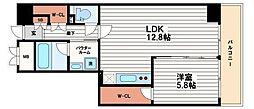 船場ミッドキューブ[8階]の間取り