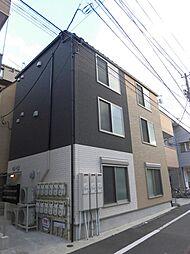 東京都大田区大森中3丁目の賃貸アパートの外観