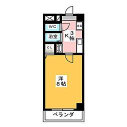 ヤマトマンション昭和橋[7階]の間取り