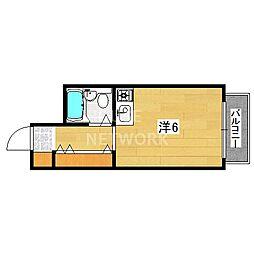 文華堂マンション[405号室号室]の間取り