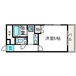 エトワールMTIII[2階]の間取り