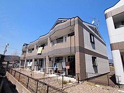 岐阜県加茂郡川辺町比久見の賃貸アパートの外観