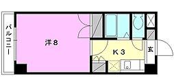 ジョイフル第5中村[212 号室号室]の間取り