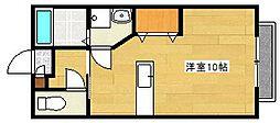 シャール藤[1階]の間取り