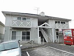 福岡県北九州市小倉北区富野台の賃貸アパートの外観