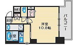 LIBRATAKATSUKI(リブラタカツキ) 6階1Kの間取り