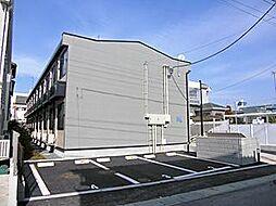 千葉県市川市新田3丁目の賃貸アパートの外観