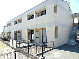 静岡県磐田市大久保の賃貸アパートの外観