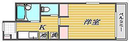 アヴェニール南馬込[2階]の間取り