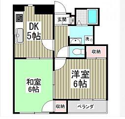 サニーヒル[2階]の間取り