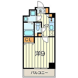 La Bella Vita 横浜大通り公園 915330[2階]の間取り