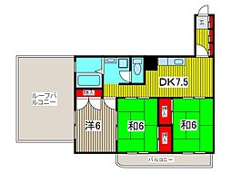 タカラサンロージェ[11階]の間取り