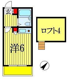 メイプルハウス南海神 A棟[1階]の間取り
